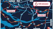 Afsluiting Wantijbrug en Botlekbrug zorgt voor absurde situatie